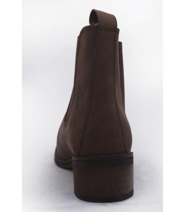 Boots en cuir huilé enfant JMR