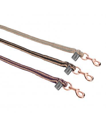 Corde bicolore or rosé avec mousqueton classique Héritage 2020 - Eskadron