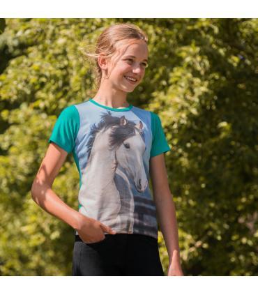 T-shirt Horsy pour enfant - Horka
